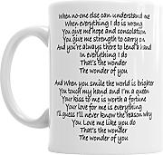 Gift Original The Wonder of You For Him Taza de