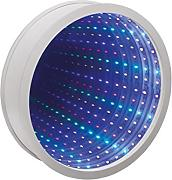 Global Gizmos Multicolor 42-LED redondo infinity
