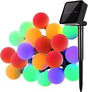 Globo Luces de Cadena,KINGCOO Impermeable 23ft