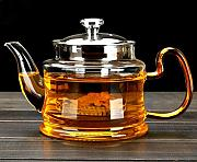 Good Clear Borosilicate Glass Teapot With 304