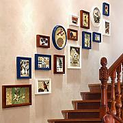 GuoEY Wall Escaleras Pinturas Decorativas,