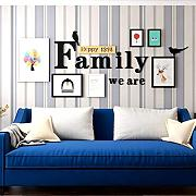 GuoEY Wall Nordic Alphabet Photo Wall Gran Pared