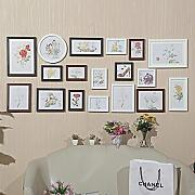 GuoEY Wall Pared Grande 18-Box Mix & Match Foto
