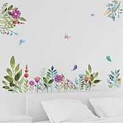 Guyuell Colorful Spring Flower Pegatinas De Pared