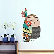 Guyuell Tribu Viento Animal Owl Pegatinas De Pared