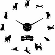 HHYXIN Fox Hound Terrier Reloj de Pared