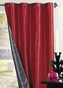 Homemaison HM69851091 - Persiana, Color Rojo