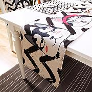 Hong Jie Yuan Table Runner - Cartoon Cute Cotton
