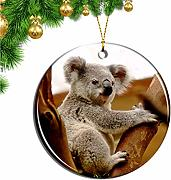 Hqiyaols Ornament Australia Koala Hospital Port