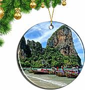Hqiyaols Ornament Tailandia Railay Beach Krabi