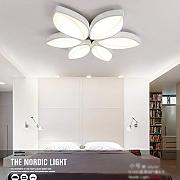 HYW Luz de Techo Simple Moderna led Flor Creativa