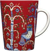 Iittala Taika - Taza (313 ml), color rojo