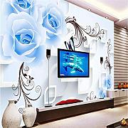 Imagen Azul Banshen Rose Flower Photo Wallpaper
