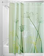 InterDesign Thistle Cortina de baño | Cortinas