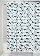 InterDesign Triangles Cortina de baño, Cortinas