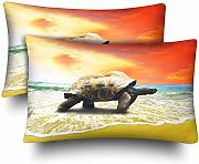 InterestPrint Big Turtle Tropical Oceans - Juego