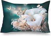 InterestPrint Fundas de almohada rectangulares