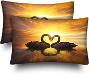 InterestPrint - Fundas de almohada rectangulares
