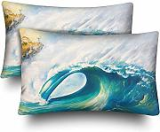 InterestPrint Great Ocean Wave Seascape - Juego de