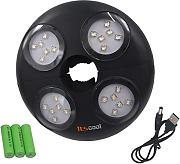 Itscool Luz LED para Sombrilla, 24 LED con Alta