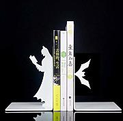 JJJJD Bookends Creativos De Batman, Sujetalibros