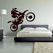 jknnw Motocross Vinilo Pared calcomanía