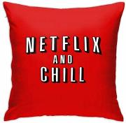 jonycm Funda de Almohada Decorativa Netflix and