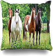 jonycm Pillowcase Animal Horse Pillowslip Impreso