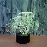 KAIYED Luz Nocturna Creative 3D Vision Lamp