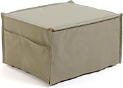 Kave Home - Puf cama Lizzie 70 x 60 (180) cm beige