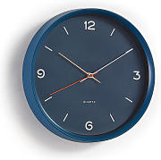Kave Home - Reloj de pared Diya azul