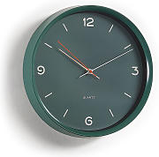 Kave Home - Reloj de pared Diya verde