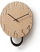 Kave Home - Reloj de pared Peters