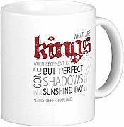Kings Gift Cups Queens Starbuck Coffee Mugs