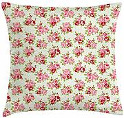 Kinhevao Shabby Chic Throw Pillow, románticos