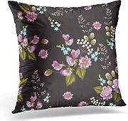 Kinhevao Throw Pillow Ropa de Cama Bordado con