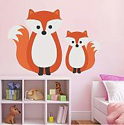 Knncch  Bosque Lindo Animal Oso Fox Pegatinas De