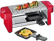 Küchenprofi Hot Stone Duo - Raclette, color rojo