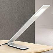Lámpara de mesa LED Neville plegable - alu mate