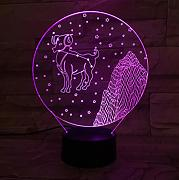 Lámpara de mesa Western Zodiac Night Light LED