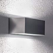 Lámpara de pared LED de exterior de aluminio Enes