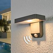 Lámpara LED solar Maik sensor, montaje en pared