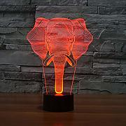 LED Baby Sleep Night Lights Interesante Patrón de