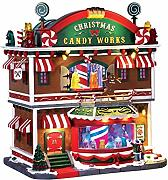 Lemax - CHRISTMAS CANDY WORKS, WITH 4.5V ADAPTOR