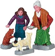 Lemax - CREAM FOR KITTY, SET OF 4