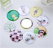 Leneom store Mini Round Cartoon Pattern Pequeños
