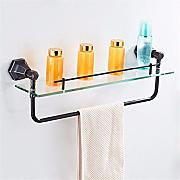 LHbox Tap Copper Black Antique Toallas Toallas de