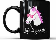 Life is Good Horse - Taza de café para los