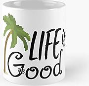 Life Is Good Shirt Classic Mug - 11 Ounces Funny
