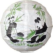 Lighting Web Panda Bamboo - Lámpara de papel